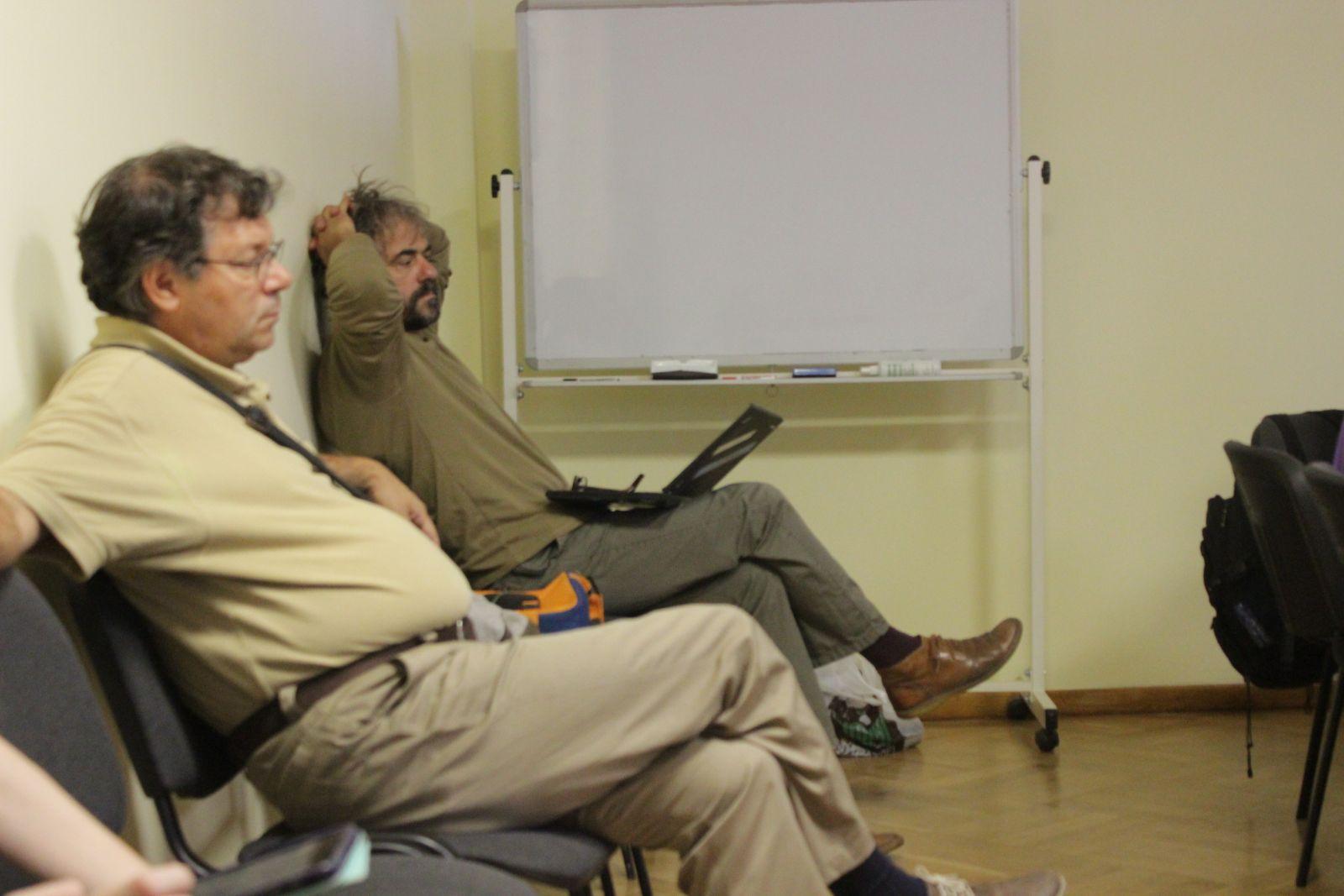Студенческое заседание