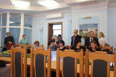 Перед заседанием круглого стола