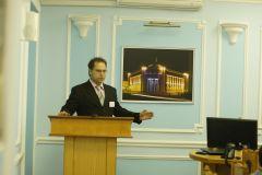 С.Д. Лебедев открывает конференцию